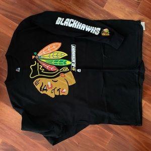 Blackhawks long sleeve T-shirt  XL